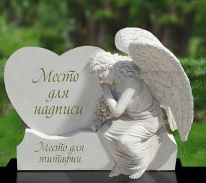 Ангел на могилу — символика памятника, уход и другие особенности