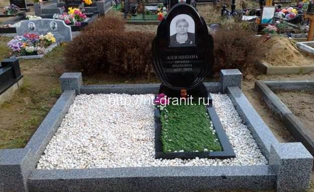 благоустройство могилы на кладбище