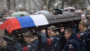 Военные похороны — особенности проведения