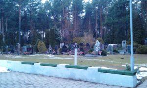 Восточное (Московское) кладбище в Минске